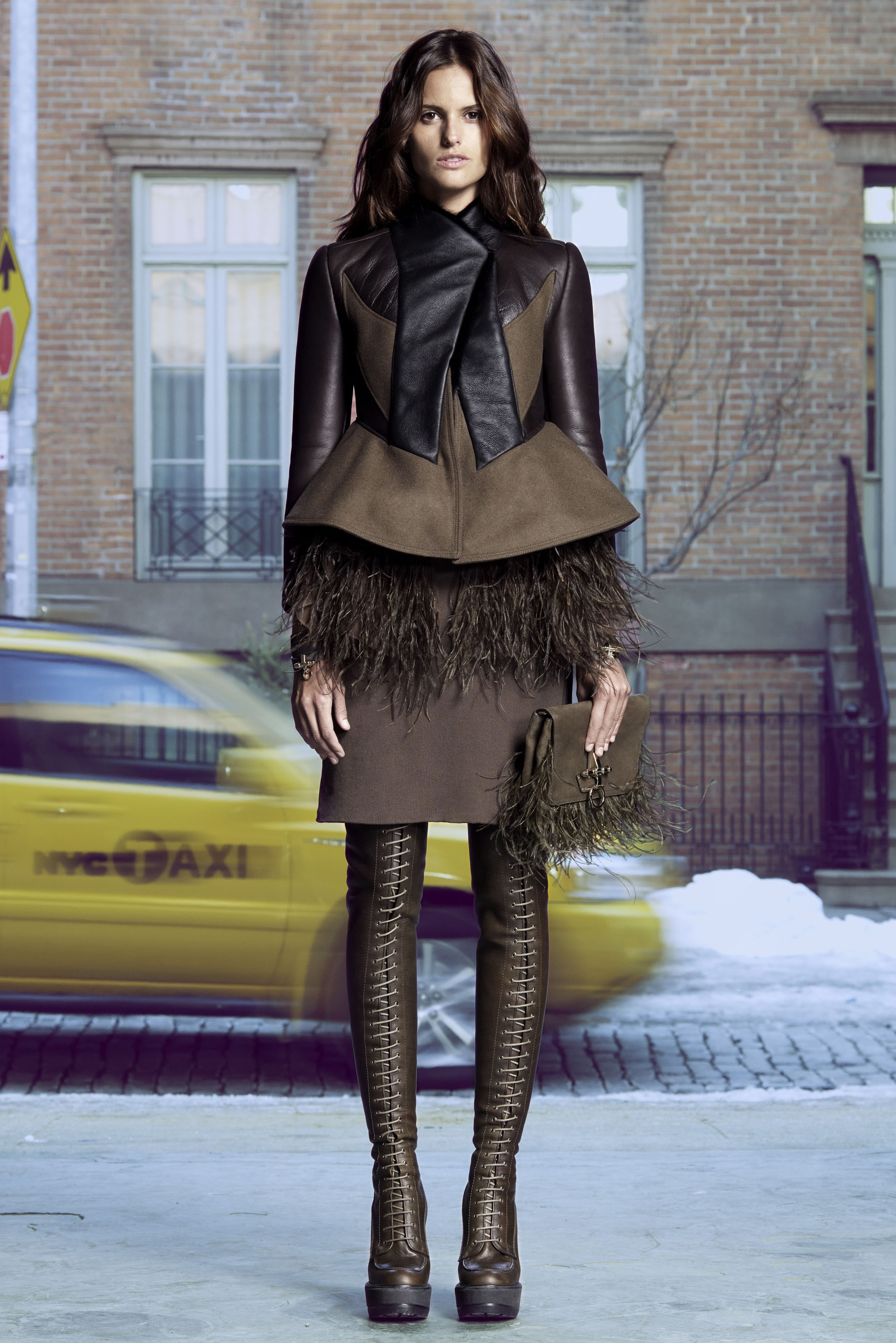 Givenchy Pre Fall 2011 Look Book 7