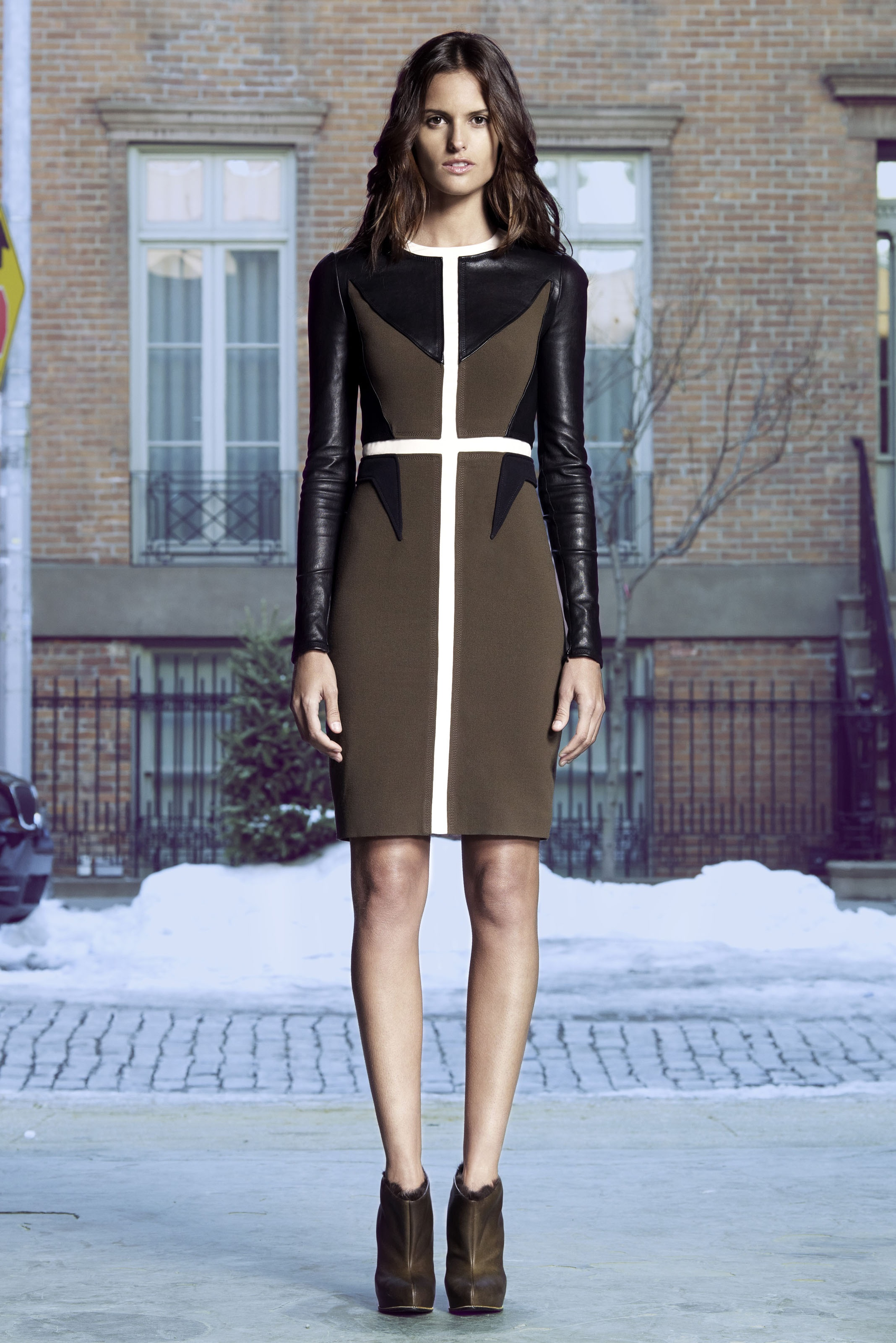 Givenchy Pre Fall 2011 Look Book 6