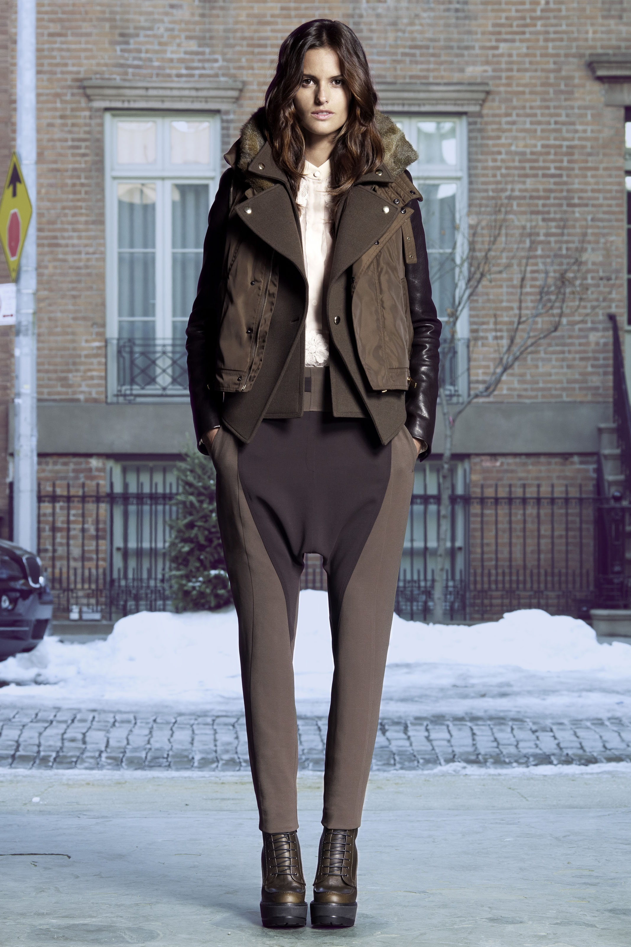 Givenchy Pre Fall 2011 Look Book 1