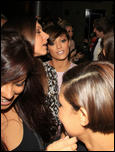 Фрэнки Сандфорд, фото 304. Frankie Sandford celebrating her birthday the Mayfair Hotel & China White, 14-01-11, foto 304