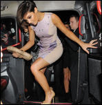 Фрэнки Сандфорд, фото 305. Frankie Sandford celebrating her birthday the Mayfair Hotel & China White, 14-01-11, foto 305