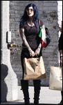 Кэтерин фон Драхенберг, фото 516. Katherine Von Drachenberg Shopping in Beverly Hills, 20-01-11, foto 516